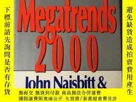 二手書博民逛書店Megatrends罕見2000  ten new direct