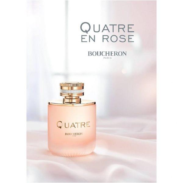 BOUCHERON 伯瓊 Quatre En Rose 環戒玫瑰之戀淡香精 30ml 贈香水空瓶5ml《Belle倍莉小舖》99295