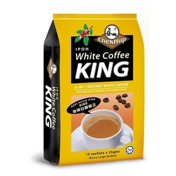 【南紡購物中心】澤合怡保白咖啡 三合一(25gX15包/袋)X3袋