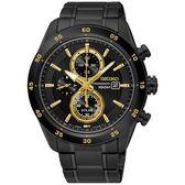 SEIKO 精工錶 Criteria 限量 太陽能 藍寶石水晶鏡面 計時腕錶 SSC541P1 熱賣中!