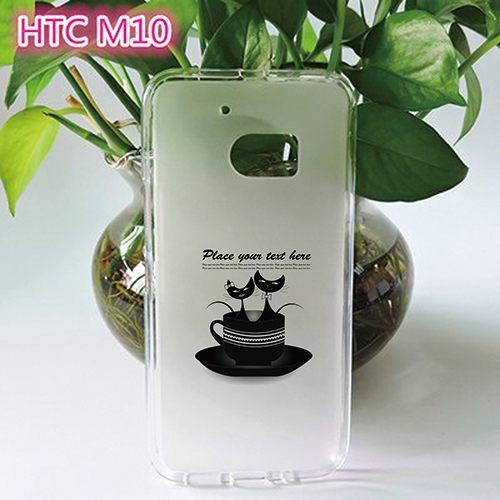 ♥ 俏魔女美人館 ♥ (杯杯貓*軟殼}HTC 10 手機殼 手機套 保護套 保護殼