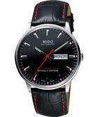MIDO 美度 Commander II指揮官系列機械手錶-黑/40mm M0214311605100