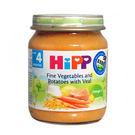 HiPP喜寶 天然蔬菜小牛肉全餐125g