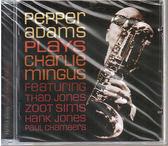 【正版全新CD清倉 4.5折】Pepper Adams : Plays Charlie Mingus 派伯.亞當斯 演奏查爾斯.明格斯(AMG四星評價)
