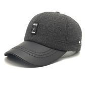 棒球帽-時尚百搭冬季必備毛呢男護耳帽3色73pi16【巴黎精品】