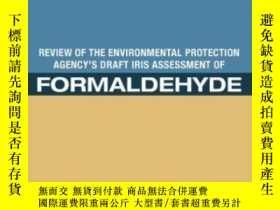 二手書博民逛書店Review罕見Of The Environmental Protection Agency s Draft Ir