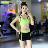 瑜珈服 瑜珈服套裝女夏季運動服跑步速幹背心短褲健身房專業性感修身顯瘦 6色