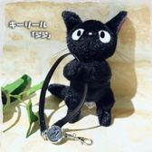 尼德斯Nydus~* 日本正版 吉卜力 宮崎駿 魔女宅急便 黑貓 吉吉 奇奇 證件鏈 鑰匙鏈