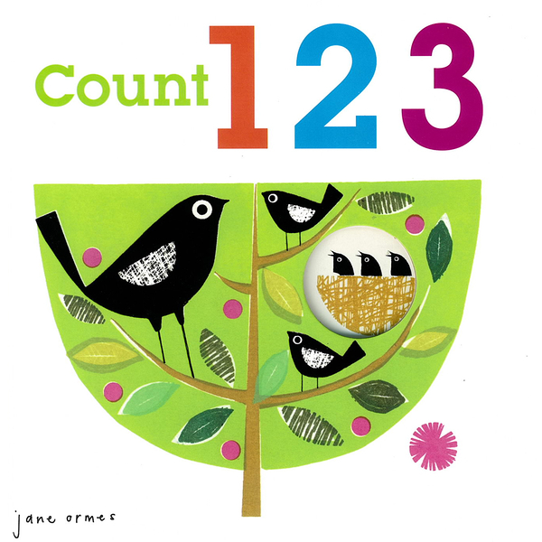 Peep Through:Count123 數字學習硬頁書