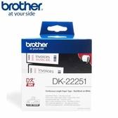BROTHER 連續標籤帶 62mm 紅黑雙色 DK-22251