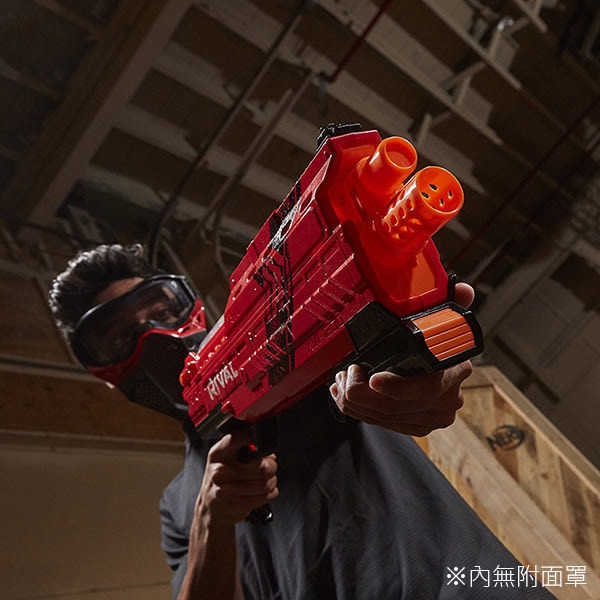 孩之寶Hasbro NERF系列 兒童射擊玩具決戰系列 RIVAL 阿特拉斯XVI1200 紅藍兩色隨機出貨 B3855