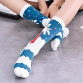 襪子女中筒襪秋冬季薄款可愛日繫百搭小腿襪個性ins潮街頭 酷斯特數位3c