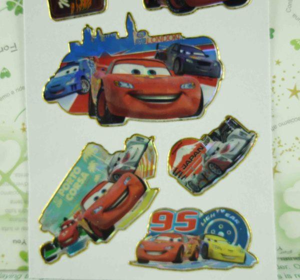 【震撼精品百貨】汽車總動員_Cars~貼紙組-D