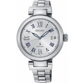 【台南 時代鐘錶 SEIKO】精工 LUKIA 典雅羅馬時標機械錶 SRP851J1@4R35-02X0S 銀 34mm