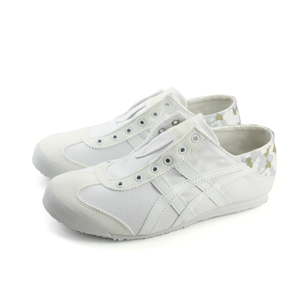 Onitsuka Tiger MEXICO 66 PARATY 運動鞋 休閒鞋 帆布 白色 男鞋 D7C1N-0101 no257
