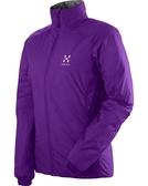 Haglofs BARRIER III Q JACKET 女款化纖保暖外套 2C6 亮紫色