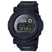 CASIO G-SHOCK 35周年超復古忍者面罩電子運動錶-消光黑(G-001BB-1)