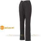 Wildland荒野W2301-54黑色  女   防風防潑水保暖長褲