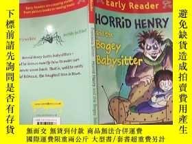 二手書博民逛書店horrid罕見henry and the bogey babysitter 可怕的亨 利和那個可怕的保 姆..奇