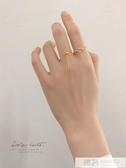 十二星座戒指女s925純銀日韓簡約潮人創意學生個性清新網紅食指戒 韓慕精品