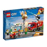 樂高積木 LEGO《 LT60214 》City 城市系列 - 漢堡餐廳火災救援╭★ JOYBUS玩具百貨