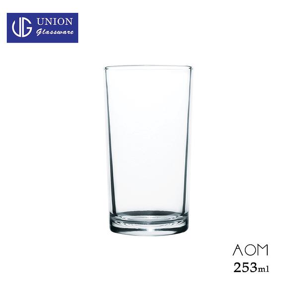 泰國UNION Aom直水杯 253ml 海波杯 Highball 玻璃杯 酒杯 水杯 飲料杯