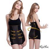 【特價】產後瘦後 減重 塑型 美體 修身 搶救S腰․長版細肩塑身衣M-XXL(銀河黑) NA14080006