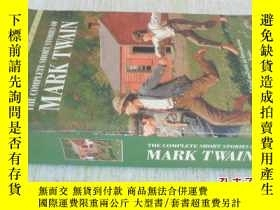 二手書博民逛書店英文原版罕見Complete Short Stories of Mark Twain (Bantam Classi