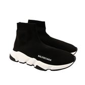 【BALENCIAGA】Speed Trainer襪套鞋(女款)(黑色)(39) BA51190001