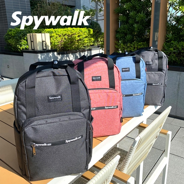 SPYWALK  手提繽紛後背包  NO:S9188