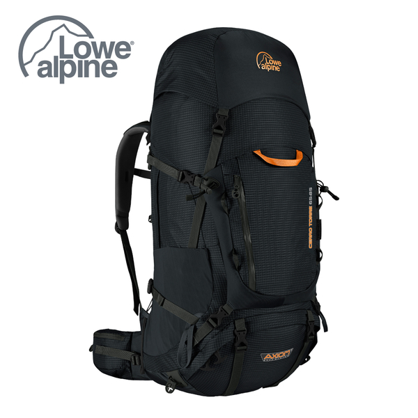 Lowe Alpine AXIOM Cerro Torre 65:85 背負系統 重裝後背包 黑 #FBP95