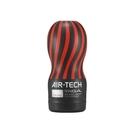 情趣用品 飛機杯 免運送潤滑液  挺趣自慰 日本TENGA ATH-001B AIR-TECH 空壓旋風飛機杯 黑色激情(緊實)