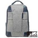 FX CREATIONS WEA系列-14吋專利減壓背帶 大後背包-淺灰-WEA69733A-21
