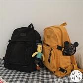 後背包 ins日系原宿街頭機能工裝雙肩包男港風復古旅行背包少女學生書包