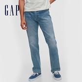 Gap男裝 時尚水洗彈力五口袋牛仔褲 604021-淺藍色