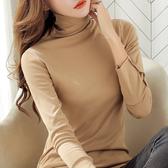 長袖針織衫秋冬新款寬鬆長袖套頭毛針織衫女外穿慵懶風打底修身上衣【低至82折】