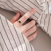 戒指 s925銀食指開口愛心冷淡風戒指女生日韓網紅潮人學生個性創意戒子 鹿角巷