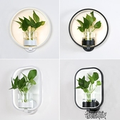 植物補光燈 現代簡約北歐創意客廳餐廳樓梯過道燈書房臥室床頭燈水 【快速出貨】