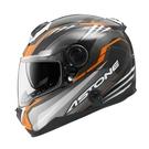 【東門城】 ASTONE GT1000F AC6 (黑銀橘) 碳纖維 全罩式安全帽