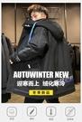 男羽絨服 羽絨服男中長款潮牌2020年新款潮流帥氣冬季加厚廓形工裝男士外套