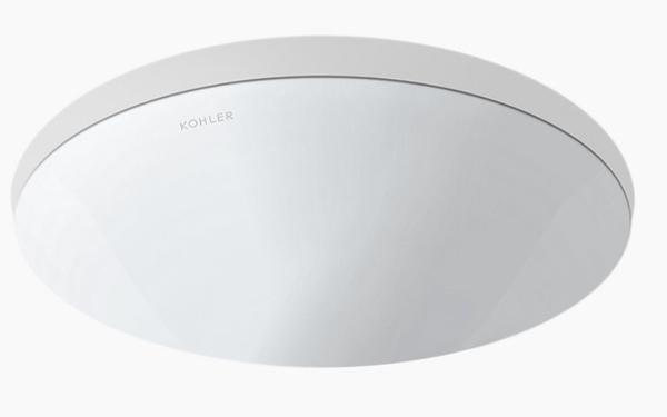 【麗室衛浴】美國KOHLER Chalice 圓形下崁盆 K-97011T-0 451*457*H203mm