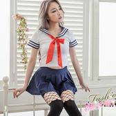 甜美萌系水手服cosplay服裝~情趣學生服角色扮演服裝~流行E線A7155