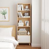 五層一門書櫃 置物櫃 書櫃 展示櫃 收納櫃【Y10268】快樂生活網