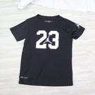 NIKE JORDAN 男童上衣 LOGO 中童T 短袖T恤 JD2122076PS001 黑【iSport愛運動】