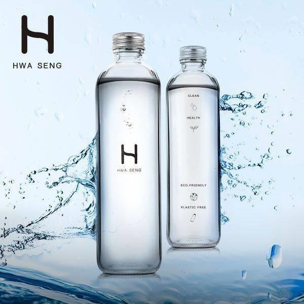 華生 玻璃瓶裝水 500c.c /2箱 全台配送 桃園 新竹