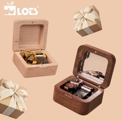 八音盒 LOTS丨木質刻字八音盒音樂盒創意定制禮品男生女生生日教師節禮物 星河光年