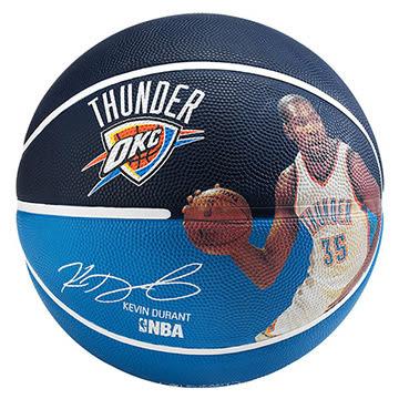 SPALDING斯伯丁籃球 NBA 球員球系列雷霆 杜蘭特#7-SPA83345(含運費)