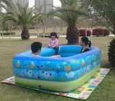 年終享好禮 充氣游泳池家用兒童嬰幼兒寶寶成人大號水池加厚海洋球池沙池泳池