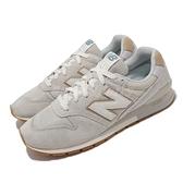 New Balance 休閒鞋 NB 996 灰 卡其 男鞋 紐巴倫 復古慢跑鞋 運動鞋【ACS】 CM996LG2-D