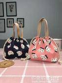 便攜抽繩袋帶飯帆布便當袋日式飯盒包便當包可愛卡通 千與千尋